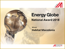 Habitat Macedonia received the Energy Globe award